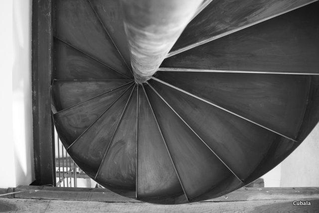 Escalier-metalique